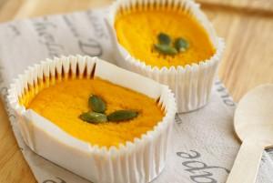 栗かぼちゃのベイクドチーズケーキ