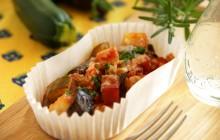 旬野菜たっぷり!ラタトゥイユ風グラタン
