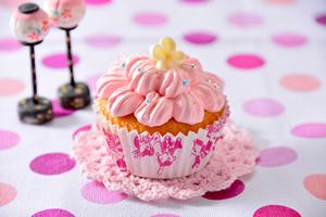 ヨーグルト風味のカップケーキ