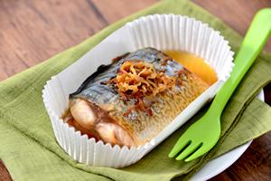サバの生姜ソース焼き