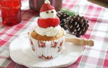 クリスマス いちごサンタのクリスマスマフィン