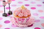 ヨーグルト風味のひな祭りカップケーキ