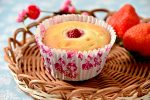 いちごミルクのひな祭りカップケーキ