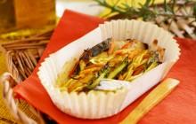 サワラと春野菜のグリル カレーマリネソース