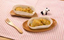 カリカリ白身魚のカレーパン粉焼き